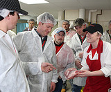 Amanda King teaching at Master Meat Crafters class 1/13